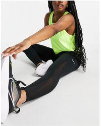 Nike - Черные Леггинсы Длиной 7/8 Nike Training Epic Luxe-черный Цвет - Lyst