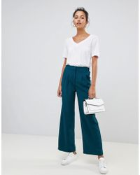 Suncoo - Wide Leg Pants - Lyst