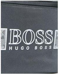 BOSS by HUGO BOSS Серая Сумка-кошелек На Пояс С Логотипом -серый