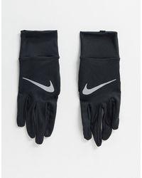 Nike Черные Женские Перчатки Running-черный