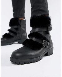New Look Laarzen Met Bandjes - Zwart