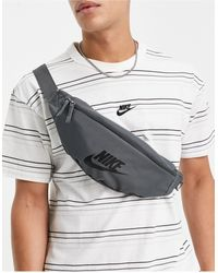 Nike Серая Сумка-кошелек На Пояс Heritage-серый