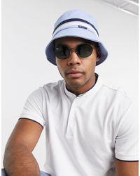 Ben Sherman Bucket Hat - Blauw