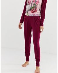 Ted Baker - B By Palace Gardens Jersey Pyjama Bottoms - Lyst