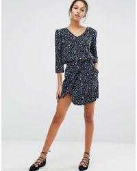 Suncoo - Printed Skirt - Lyst