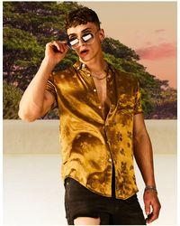 ASOS Camisa color bronce - Marrón