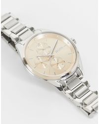 BOSS by HUGO BOSS Womens Pink Dial Chronograph Bracelet Watch - Metallic