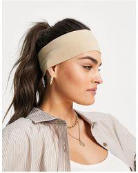 ASOS Wide Jersey Headband - Multicolor