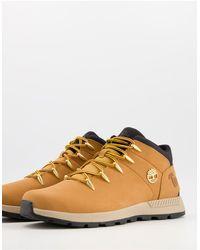 Timberland Светло-коричневые Ботинки Средней Высоты Sprint Trekker Mid-коричневый Цвет