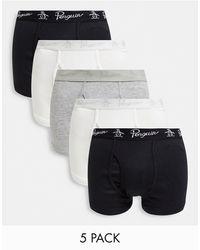 Original Penguin 5 Pack Underwear - Multicolour