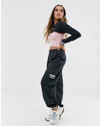adidas Originals RYV - Pantalon cargo - Noir
