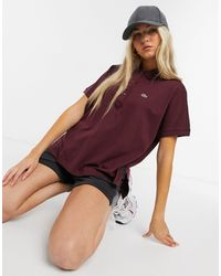 Lacoste - Oversized Polo Shirt - Lyst