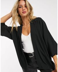 ASOS Kimono In Black