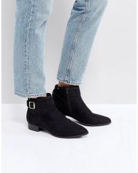 Call It Spring - Luscar Flat Ankle Boots - Lyst