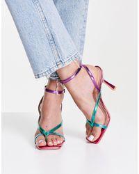 Raid Wide Fit Dorneah Strappy Sandals - Multicolour