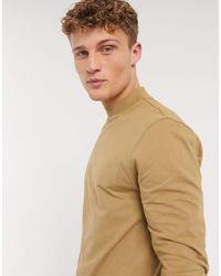 New Look Long Sleeve Turtle Neck T-shirt - Multicolour