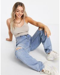 Missguided Co-ord Knitted Bralet - Natural