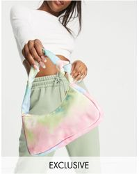 Glamorous Exclusive Shoulder Bag With Twist Knot Strap Detail - Multicolor