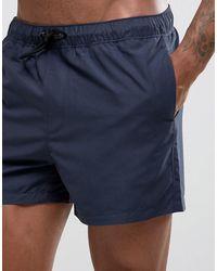 ASOS Short - Bleu