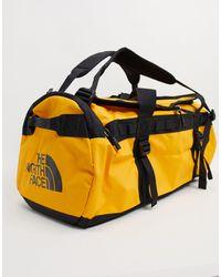 The North Face Base Camp Medium Duffel Bag 71l - Yellow