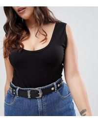 ASOS | Turquoise Stone Western Jeans Belt | Lyst