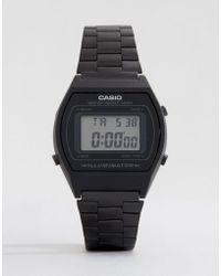 6c8552fad G-Shock - B640wb-1aef Digital Stainless Steel Watch In Black - Lyst