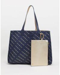 Superdry Monogram Shopper - Blue