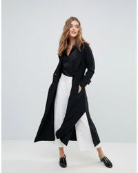 Closet - Wardrobe Double Button Trench Coat - Lyst