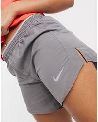 Nike Серые Шорты Tempo, 5 Дюймов-серый