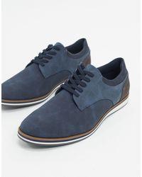ALDO Cycia Lace Up Shoes - Blue