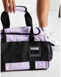 PUMA Сиреневая Сумка-дафл Training-фиолетовый Цвет - Пурпурный