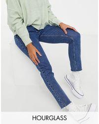 Abercrombie & Fitch Curvy Skinny Jeans - Blue