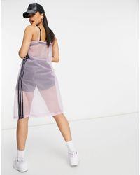adidas Mesh Dress - Purple