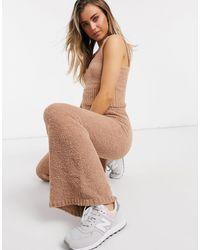 New Look - Светло-коричневый Плюшевый Бюстгальтер От Комплекта - Lyst