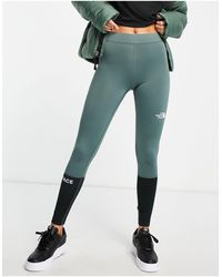 The North Face Leggings verdes Mountain Athletic