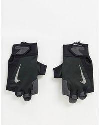 Nike Черные Мужские Перчатки Training-черный