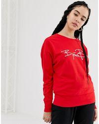 Björn Borg – Signature 85 – Sweatshirt - Rot