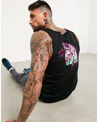 The North Face Camiseta sin mangas en negro MOS