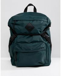 New Look - Backpack In Dark Green - Lyst