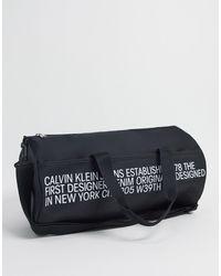 Calvin Klein Weekender - Schwarz