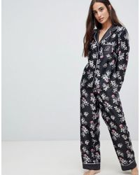Ted Baker - B By Sunlit Floral Print Revere Pyjama Top - Lyst