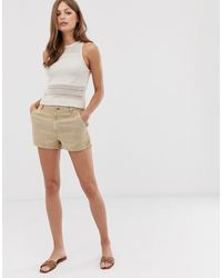 Mango Safari Shorts - Brown