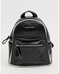Claudia Canova Black Backpack