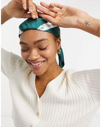 ASOS Polysatin Medium Headscarf - Multicolour