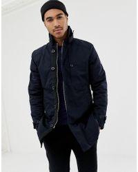 G-Star RAW Garber - Trench-coat matelassé - Bleu marine