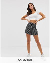 ASOS Pantalones cortos tipo culotte con estampado - Multicolor