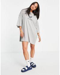 Skinnydip London Butterfly T-shirt Dress - Grey