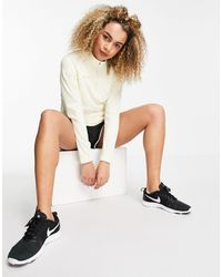 Nike Football Academy Dry Drill - Top color crema - Bianco