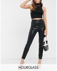 ASOS Hourglass Lift And Contour Skinny Jeans - Black