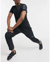 Reebok Training Logo joggers - Black